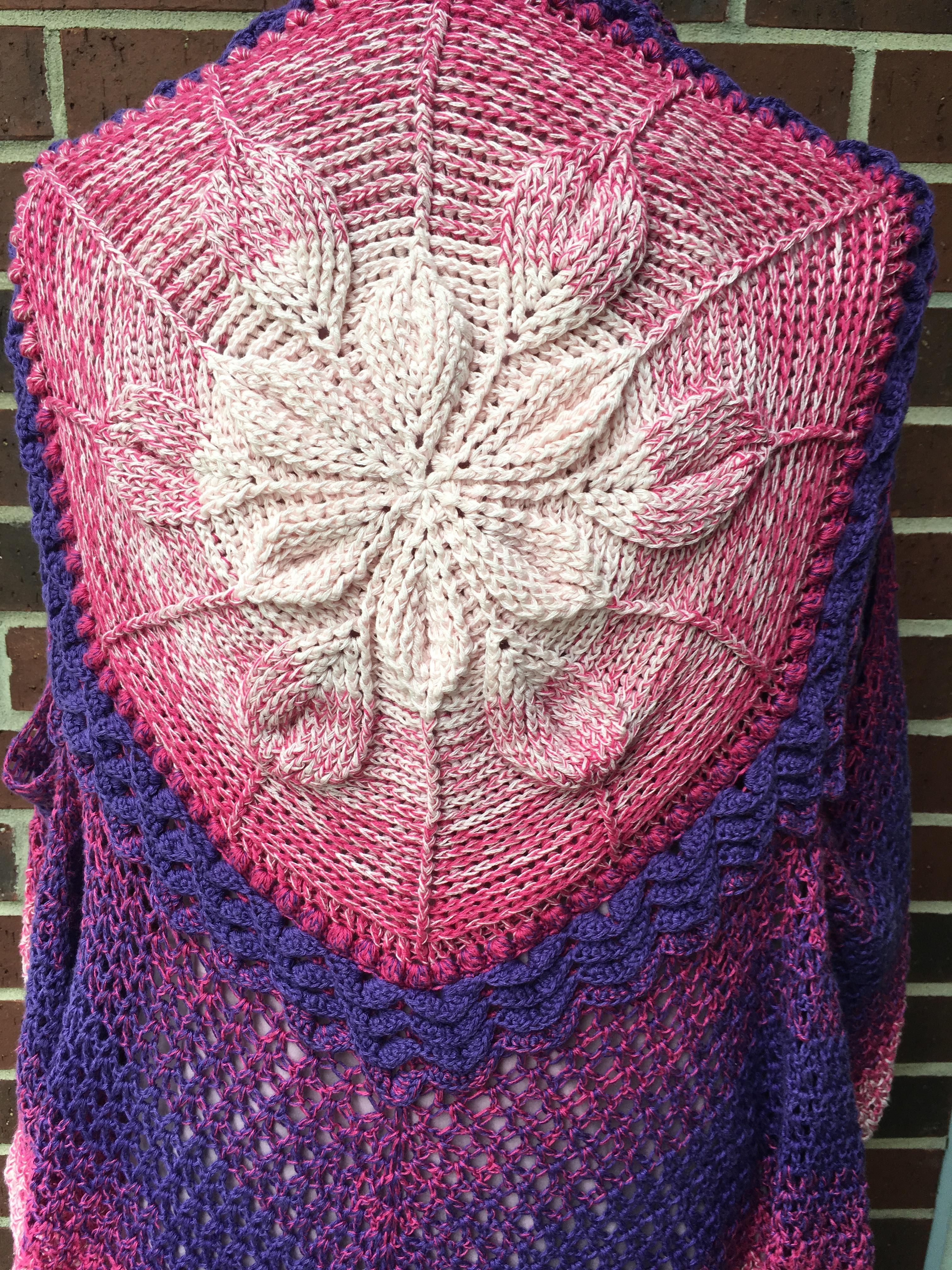 Embossed Crochet Boho Vest